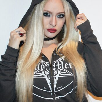 True Metal Brand - Occult Grey Zip-Hood
