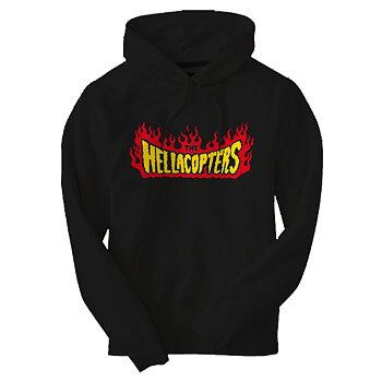 HELLACOPTERS - HOODIE, FLAMES LOGO