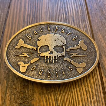 BACKYARD BABIES - BELT BUCKLE