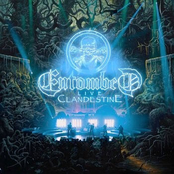 ENTOMBED - CLANDESTINE - LIVE (CD)