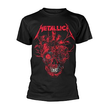 METALLICA - T-SHIRT, HEART SKULL