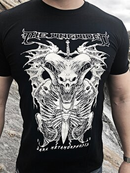 THE UNGUIDED - T-SHIRT, DARK METAMORPHOSIS (WHITE)