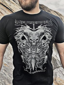 THE UNGUIDED - T-SHIRT, DARK METAMORPHOSIS (GREY)