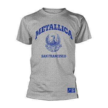 METALLICA - T-SHIRT, COLLEGE CREST