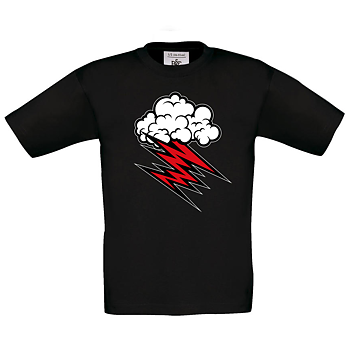 HELLACOPTERS - KIDS T-SHIRT, CLOUD -18 (BLACK)
