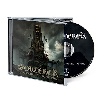 Sorcerer - The Crowning Of The Fire King, CD Jewelcase, Signed!