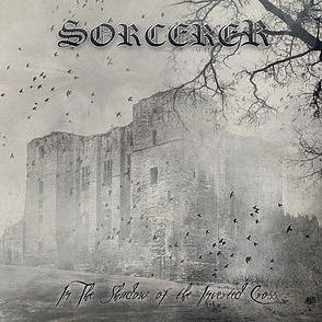 Sorcerer - In The Shadow Of The Inverted Cross, CD Jewelcase, Signed!