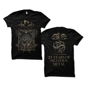 MÅNEGARM - T-SHIRT, 25 YEARS OF HEATHEN METAL