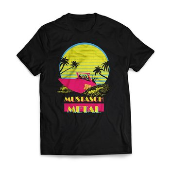 MUSTASCH - T-SHIRT, MIAMI VICE