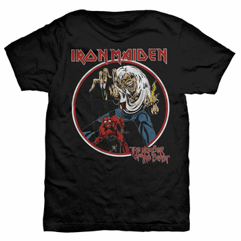IRON MAIDEN - T-SHIRT, NUMBER OF THE BEAST