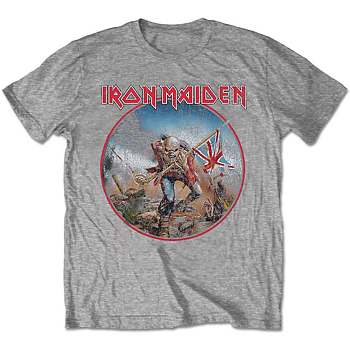 IRON MAIDEN - T-SHIRT, TROOPER VINTAGE CIRCLE