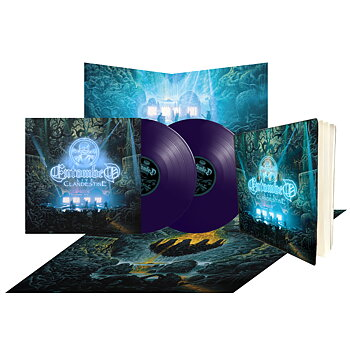 ENTOMBED - CLANDESTINE - LIVE (PURPLE VINYL BUNDLE)