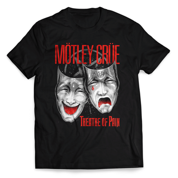 MOTLEY CRUE - T-SHIRT, THEATRE OF PAIN CRY