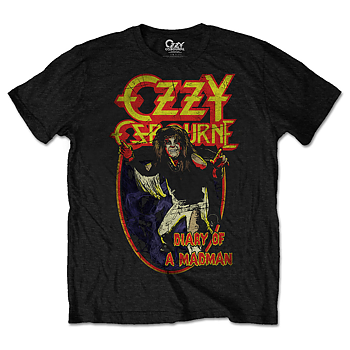 OZZY OSBOURNE - T-SHIRT, DIARY OF A MAD MAN