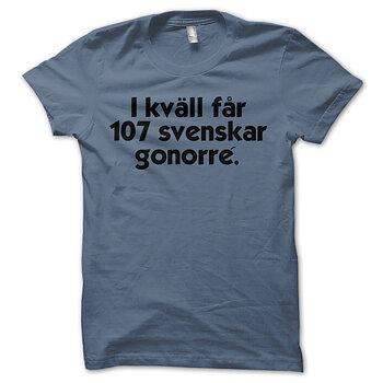 SUNTRIP - T-SHIRT, 107 SVENSKAR...