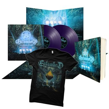 ENTOMBED - CLANDESTINE - LIVE (PURPLE VINYL ULTIMATE BUNDLE)