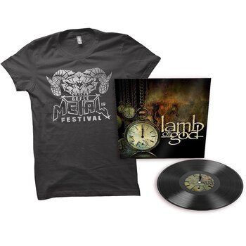 LAMB OF GOD - LAMB OF GOD (BLACK VINYL LP) GMF BUNDLE