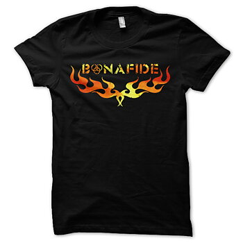 BONAFIDE - T-SHIRT, FLAMES TOUR