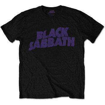 BLACK SABBATH - T-SHIRT, VINTAGE WAY LOGO