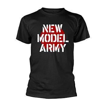 NEW MODEL ARMY - T-SHIRT, LOGO (BLACK)