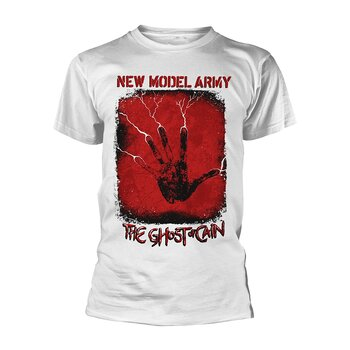 NEW MODEL ARMY - T-SHIRT, THE GHOST OF CAIN (WHITE)