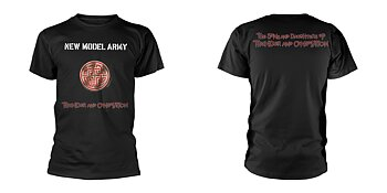 NEW MODEL ARMY - T-SHIRT, THUNDER AND CONSOLATION (BLACK)