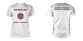 NEW MODEL ARMY - T-SHIRT, THUNDER AND CONSOLATION (WHITE)