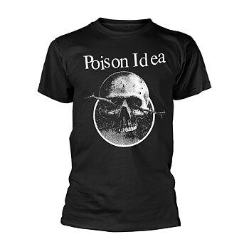 POISON IDEA - T-SHIRT, SKULL LOGO