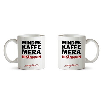 EDDIE MEDUZA - MUGG, MINDRE KAFFE MERA BRÄNNVIN