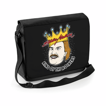 EDDIE MEDUZA - MESSENGER BAG, KING OF THE ROCKERS