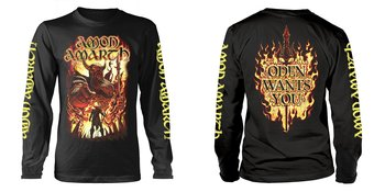 AMON AMARTH - LONG SLEEVE, ODEN WANTS YOU