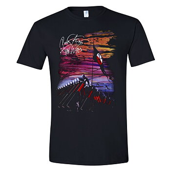 PINK FLOYD - T-SHIRT, THE WALL - MARCHING HAMMERS