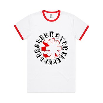 RED HOT CHILI PEPPERS - T-SHIRT, HAND DRAWN (RINGER)