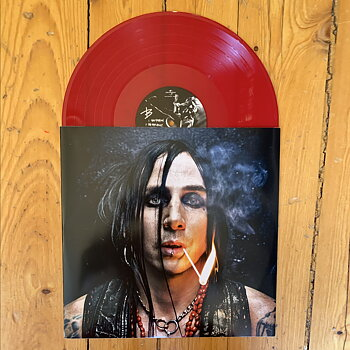 DREGEN - S/T (RED VINYL) SIGNED!