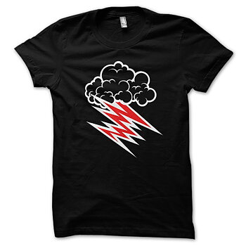 HELLACOPTERS - T-SHIRT, GRACE CLOUD (BLACK)