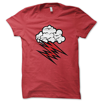 HELLACOPTERS - T-SHIRT, GRACE CLOUD (RED)