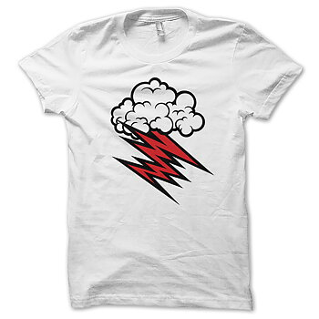 HELLACOPTERS - T-SHIRT, GRACE CLOUD (WHITE)