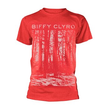 BIFFY CLYRO - T-SHIRT, RED TREE