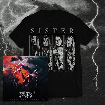 SISTER - VENGEANCE IGNITED, MEMBERS T-SHIRT PACKAGE (CD & T-SHIRT)