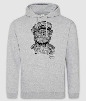 GAFFA HEROES - HOODIE, KIM (HEATHER GREY)