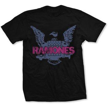 RAMONES - T-SHIRT, PURPLE EAGLE