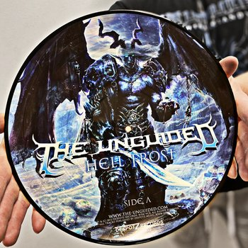 THE UNGUIDED - HELL FROST LTD PICTURE VINYL