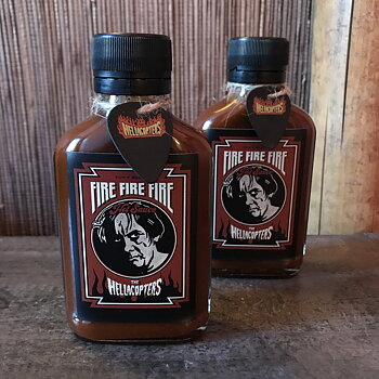 HELLACOPTERS -  HOT SAUCE - FIRE FIRE FIRE