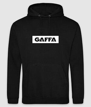 GAFFA - HOODIE, LOGO (BLACK)