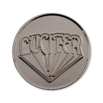 LUCIFER - METAL PIN, LOGO