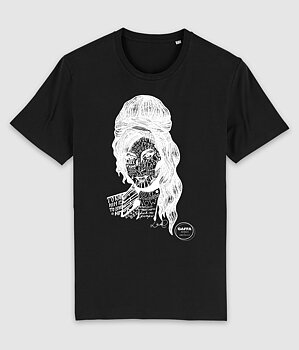 GAFFA HEROES - T-SHIRT, AMY (BLACK)