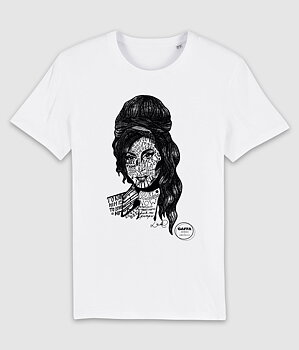 GAFFA HEROES - T-SHIRT, AMY (WHITE)