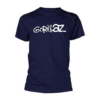 GORILLAZ - T-SHIRT, LOGO