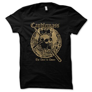 Candlemass - T-shirt, The Door To Doom