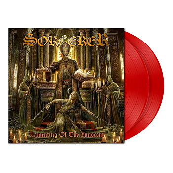 Sorcerer – Lamenting of the Innocent  - 2 LP Translucent Red Vinyl